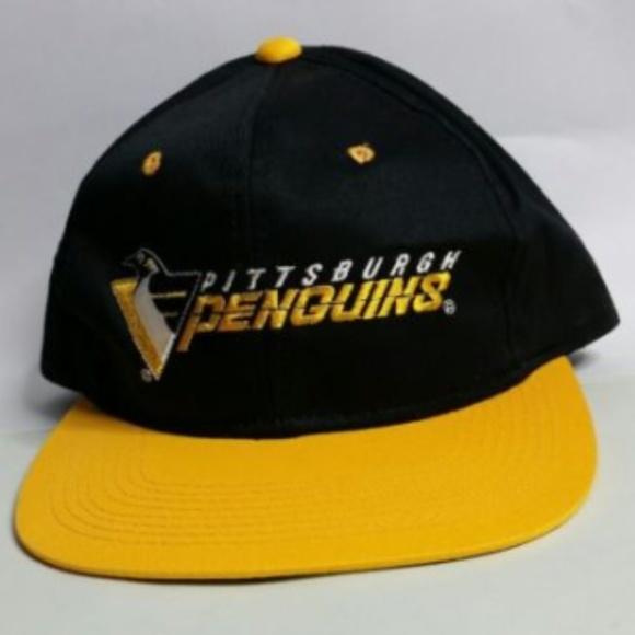 d00ec92c84ad82 Pittsburgh Penguins Snapback Hat NHL Hockey. M_5b6d81c2baebf608496f949f